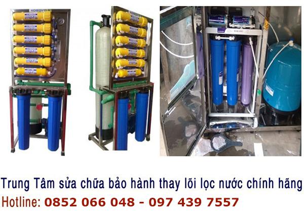Sửa chữa máy lọc nước lấy liền