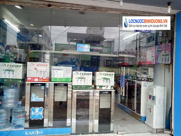 Repair water purifier in Binh Duong