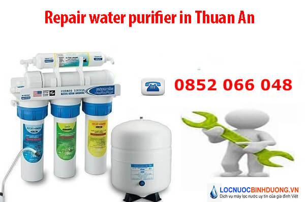 Repair water purifier in Thuan An