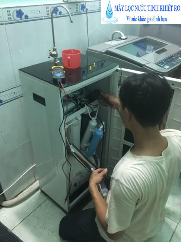 Repair water purifier