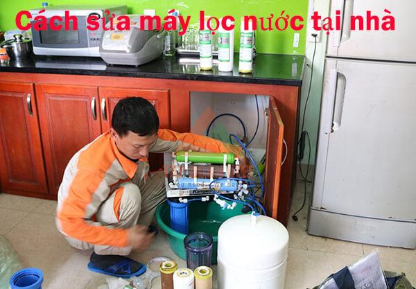 Cách tự sửa máy lọc nước tại nhà