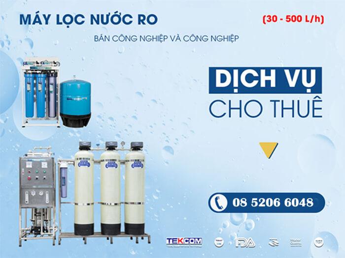 Cho thuê máy lọc nước tại Bình Dương