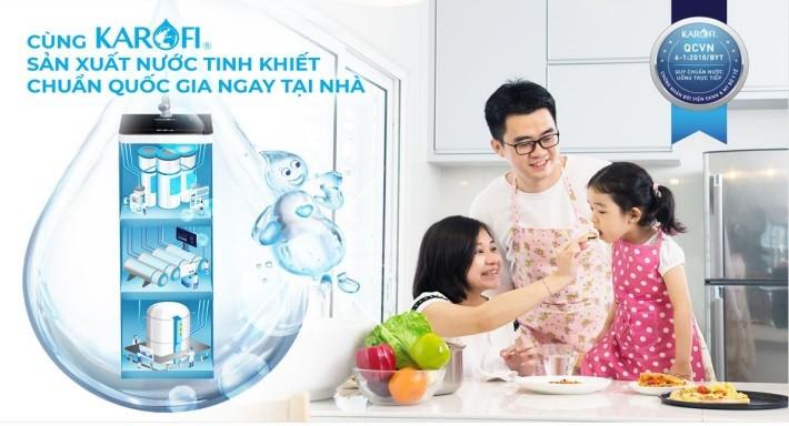 Sản xuất nước tinh khiết ngay tại nhà