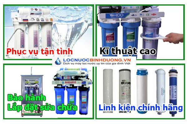 Sửa chữa máy lọc nước tại nhà Thủ Dầu Một