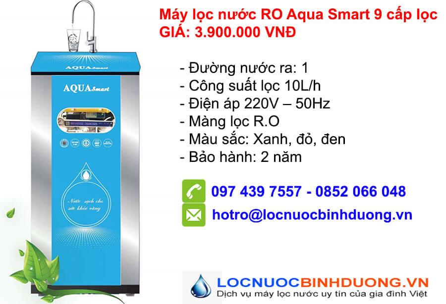 Máy lọc nước RO Aqua 9 lõi