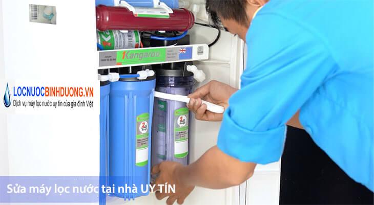 Sửa máy lọc nước tại nhà Bình Dương