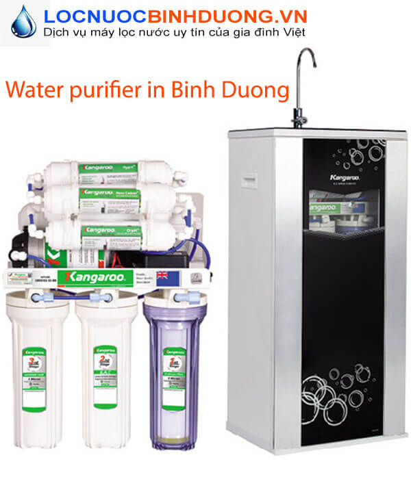 Water purifier in Binh Duong