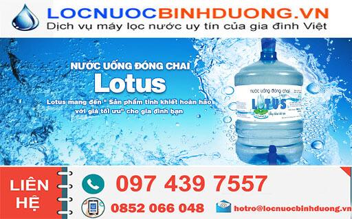 Sản xuất và phân phối nước uống đóng bình 20L tại Thuận  An