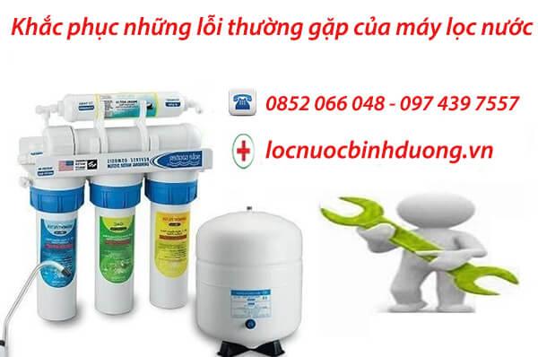 5 Vấn đề thường gặp khi dùng máy lọc nước