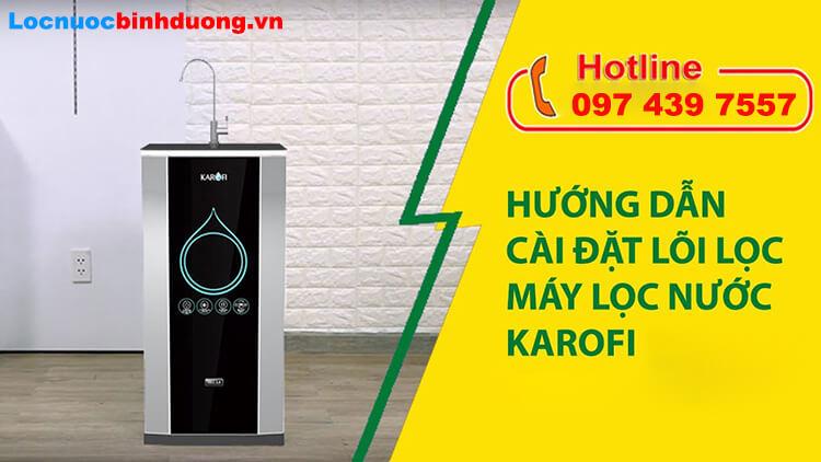 Cách reset máy lọc nước Karofi