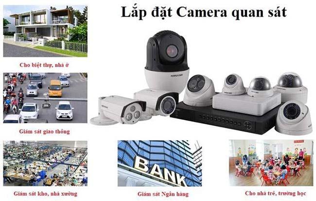 Lắp đặt camera giám sát tại kcn Vsip