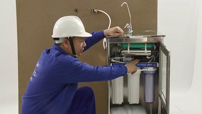 Lắp đặt  máy lọc nước tại Bình Dương