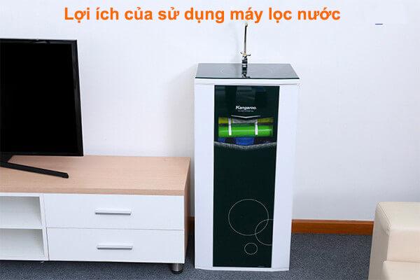 Lợi ích của sử dụng máy lọc nước RO
