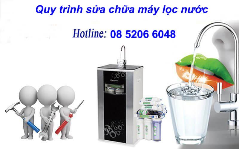 Quy trình sửa chữa máy lọc nước tại nhà