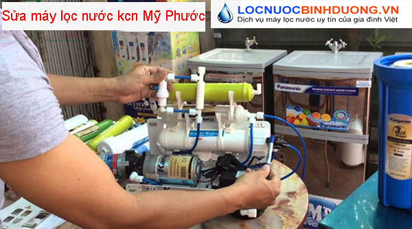 Sửa máy lọc nước tại kcn Mỹ Phước