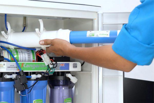 Sửa máy lọc nước tại Miếu Ông Cù