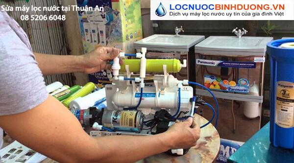 Sửa máy lọc nước tại nhà Thuận An