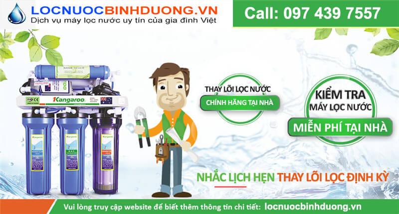 Sửa máy lọc nước tại KCN Kim Huy
