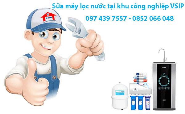 Sửa máy lọc nước tại khu công nghiệp VSIP