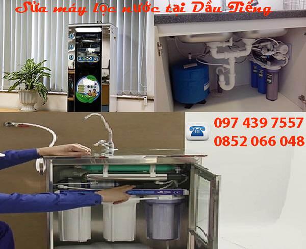 Sửa máy lọc nước tại Dầu Tiếng