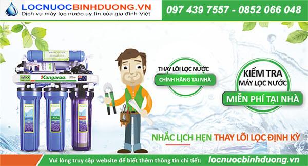 Sửa máy lọc nước tại Thủ Dầu Một
