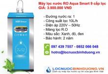 Máy Lọc Nước RO AQua Smart 9 cấp lọc